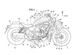 Honda Rebel 1100 Revealed In Patent Images