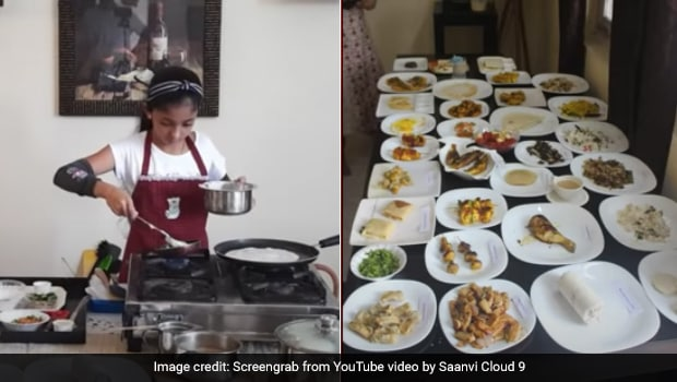 10-Year-Old Kerala Girl Cooks Record High Number Of Dishes In An Hour. Guess How Many?
