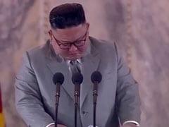 North Korea's Kim Jong Un Tearfully Thanks Troops, Apologises For Failures
