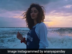 Ananya Panday Has Got The Attitude For Gratitude In Sea Swept Hair And A Caption Tee