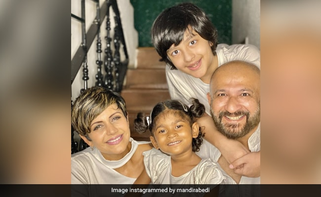 Mandira Bedi Introduces Daughter Tara: 'She Has Come To Us Like A Blessing'
