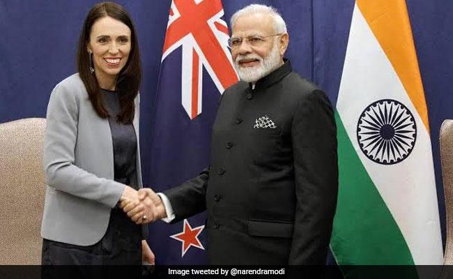 PM Modi Congratulates New Zealand's Jacinda Ardern On Election Win