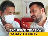 "Video : ""PM Can't Deliver Jobs So He's Attacking Me"": Tejashwi Yadav To NDTV"