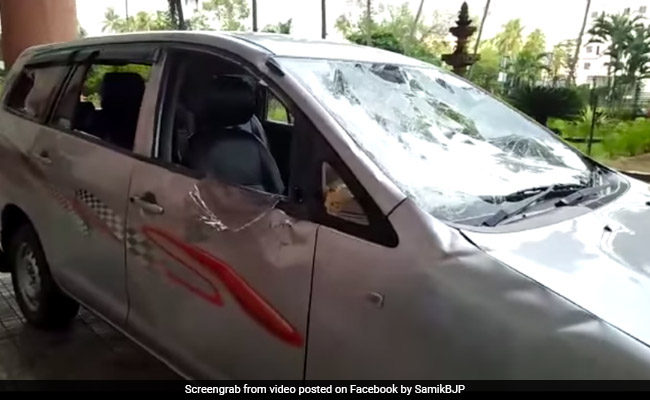 Attack On Bengal BJP Leader, Hand Slashed, Phone Snatched