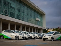 10 Renault Zoe Electric Cars To Be Used By Public Servants In The State Of Parana