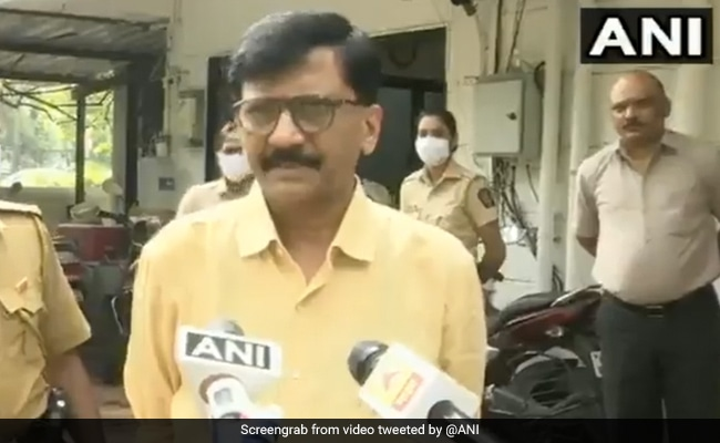 'Differences With Congress But...': Sanjay Raut On Rahul Gandhi-Cops Row