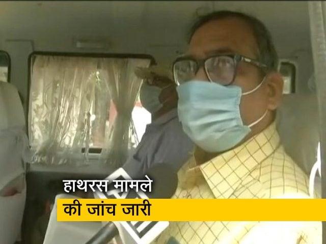 Videos : हाथरस मामला: पीड़िता के पिता की तबियत बिगड़ी, ब्लड प्रेशर की शिकायत