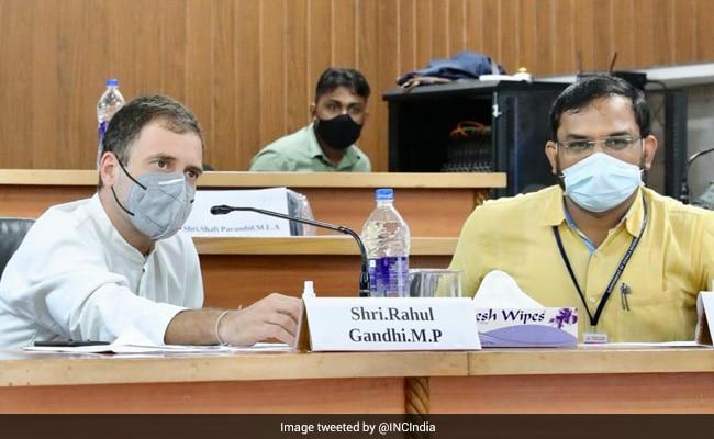 GDP ग्रोथ और Covid-19 की स्थिति पर राहुल गांधी ने किया ट्वीट, मोदी सरकार की नीतियों पर उठाए सवाल