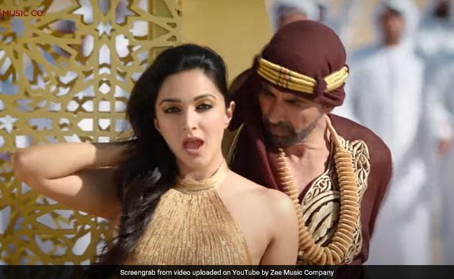 लक्ष्मी बॉम्ब सॉन्ग बुर्ज खलिफा: अक्षय कुमार आणि कियारा अडवाणी यांनी ह्रदयात नृत्य केले