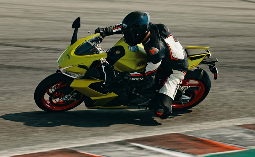 The Aprilia RS 660 was tested by Renny Scaysbrook at the Laguna Seca Raceway in California, US