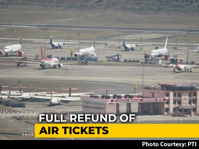 Video : Full Refund For Air Tickets Booked Amid Lockdown: What Supreme Court Said