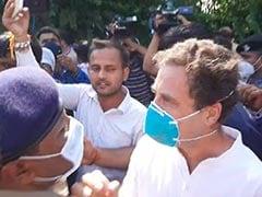 पीड़िता के परिवार से मिलने हाथरस जाने से रोके जाने पर राहुल गांधी का आरोप, 'पुलिस ने मुझ पर लाठीचार्ज किया'