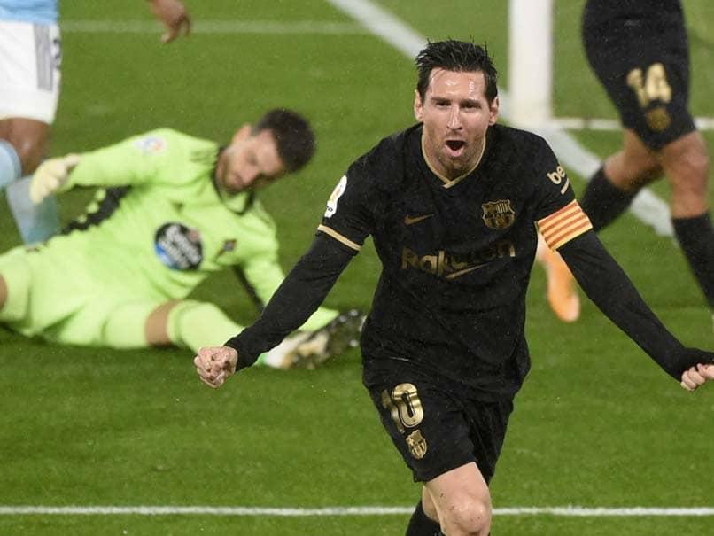 La Liga: Lionel Messi, Ansu Fati Inspire 10-Man Barcelona To Victory Over Celta Vigo