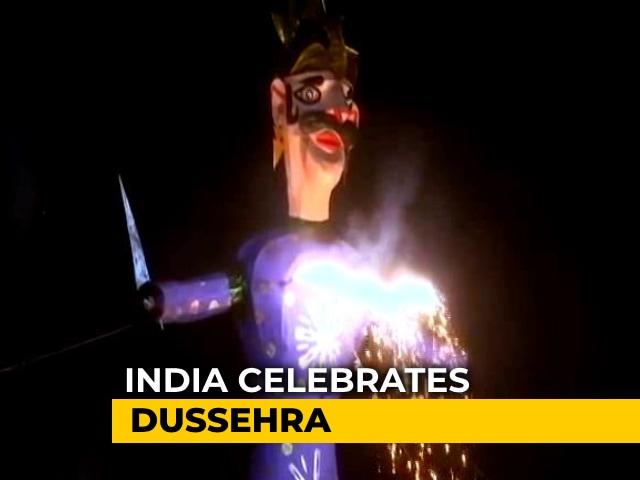 Video : India Celebrates Dussehra Amid Covid-19 Pandemic