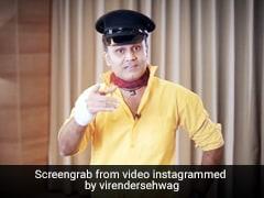 IPL 2020: हरे कपड़े पहन हारी RCB, तो वीरेंद्र सहवाग बोले- 'माही ने पाकिस्तान समझ...' - देखें Video