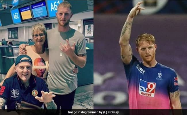 Ben stokes dedicated his century to his father who is battling with brain cancer RR Vs MI IPL 2020