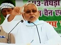 """""""Ask Your Father"""": Nitish Kumar's Latest Outburst At Tejashwi Yadav"""