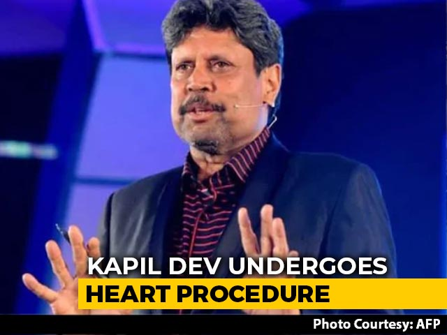 Video: Cricket Legend Kapil Dev Admitted To Hospital In Delhi Over 'Heart Issues'