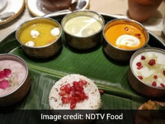 Navratri Thali At Sattvik Restaurant Is An Exciting Spread With Something For Everyone