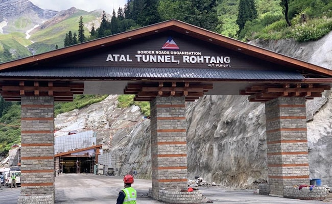 The Atal Tunnel became operational from October 3, 2020 onwards