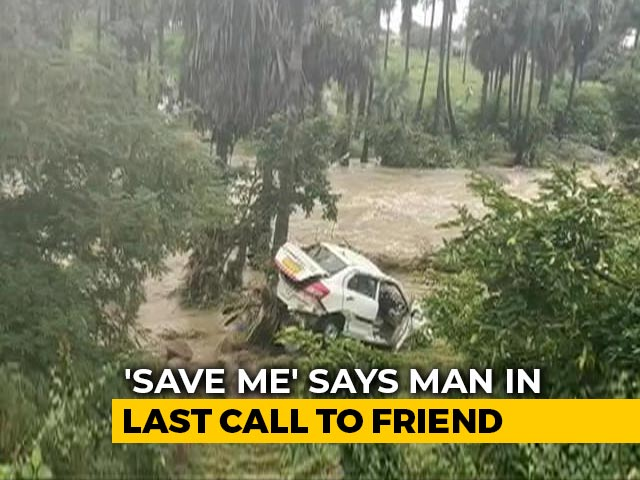"Video : ""Car Filled With Water"": Man's Last Call To Friend Who Watched Helplessly"