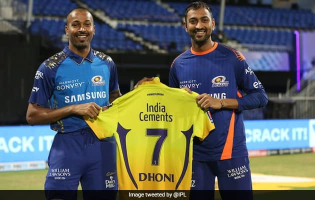 """Dhoni Gives Away His """"No. 7"""" Jersey; Hardik, Krunal, SKY Vie For It"""