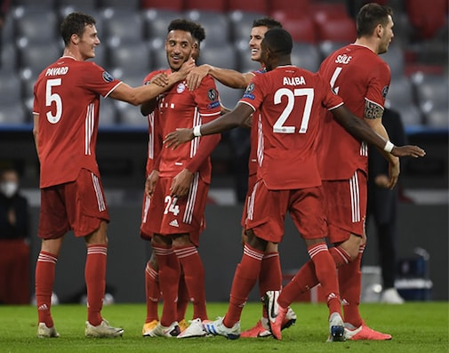 UCL: Coman Stars As Bayern Open Title Defence By Routing Atletico Madrid