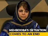 Video : Former J&K Chief Minister Mehbooba Mufti Released From Detention