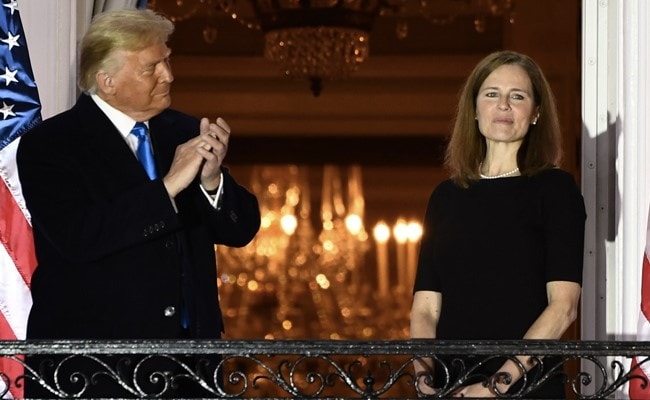 'Momentous Day': Trump On Amy Coney Barrett's Supreme Court Confirmation