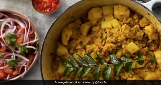 This Viral Biryani Recipe Video Made With Chicken And Dal Together Outraged Twitter