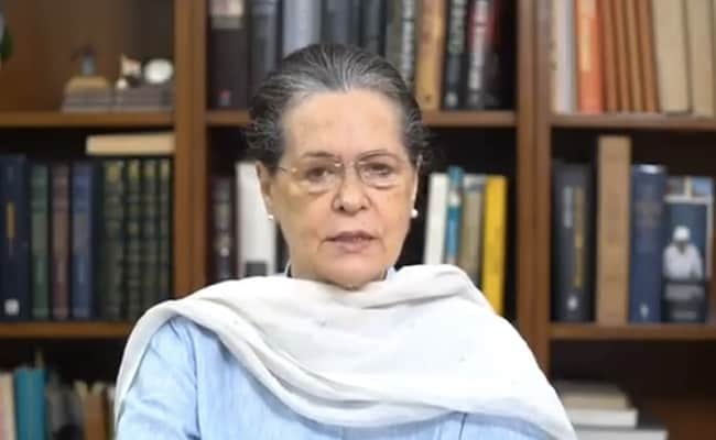 'People Swear By Gandhi Ji's Name, But Demolish His Ideals': Sonia Gandhi