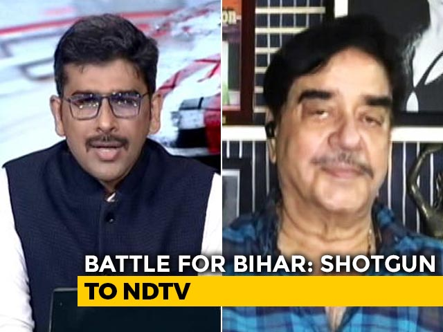 Video : Chirag Paswan Is A Symbol Of Youth Power: Shatrughan Sinha To NDTV