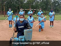 Girls Trained Near Maoist Area Selected For Junior Hockey National Trials