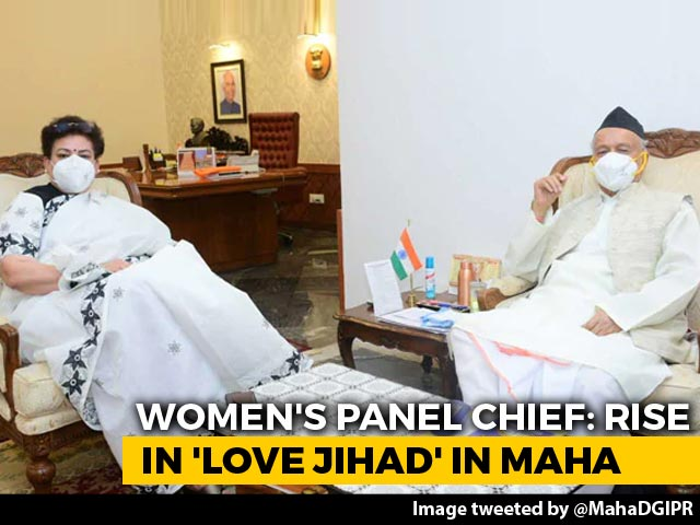 "Video : Woman's Panel Chief Talks ""Love Jihad"" Cases With Maharashtra Governor"