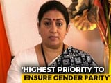 "Video : India's Laws ""Strong Enablers"" Of Women Empowerment: Smriti Irani At UN"