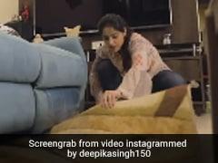 Deepika Singh ने पूरे घर में लगाया झाड़ू तो एक्ट्रेस की सासू मां ने किया ये काम, खूब Viral हो रहा है Video