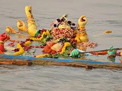 कोविड-19: इच्छामति नदी में सादे तरीके से होगा मूर्ति विसर्जन