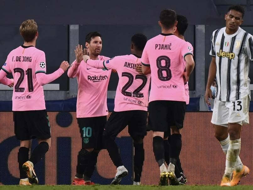 Champions League: Juventus Fall To Lionel Messis Barcelona Without Coronavirus-Hit Cristiano Ronaldo