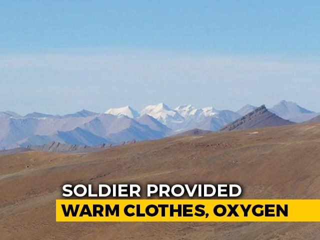 Video : Chinese Soldier Held After He Strayed Into Ladakh, To Be Sent Back