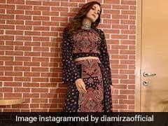 Dia Mirza's Look Transports Us To Boho Chic Heaven