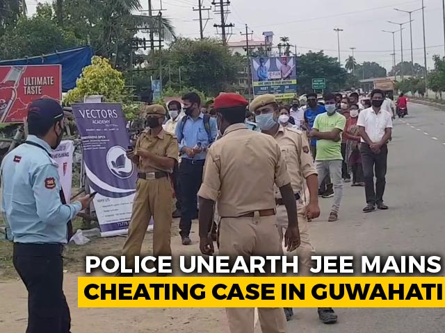 Video : JEE Mains Topper In Assam Arrested, Allegedly Used Proxy For Exam