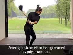 प्रियंका चोपड़ा ने गोल्फ खेलते हुए शेयर किया VIDEO, बोलीं- प्रैक्टिस से ही परफेक्ट बनते हैं...