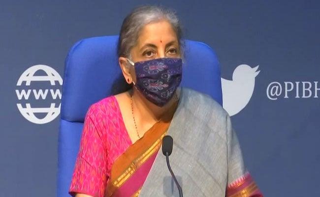 Nirmala Sitharaman Announces Economic Stimulus To Boost Demand By Rs 73,000 Crore