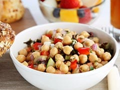 Weight Loss: Try This 4-Ingredient Chickpea Salad For A Protein-Packed Meal