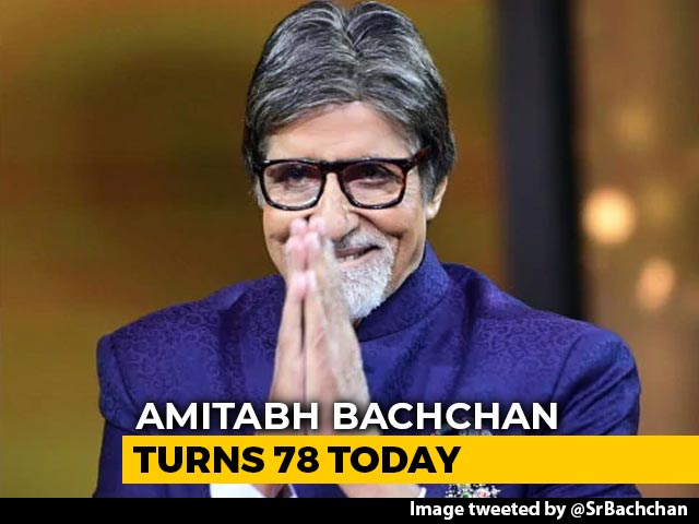 Amitabh Bachchan, 78 Today, Writes About His 'Greatest Gift' From Fans