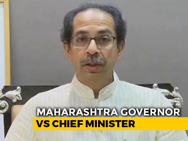 "Video : ""Don't Need Your Certificate For Hindutva"": Uddhav Thackeray vs Governor"
