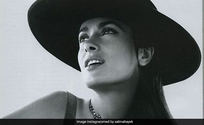 Salma Hayek Reveals How Goddess Lakshmi Helps Her 'Connect With Inner Beauty'
