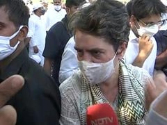 """A Father Not Allowed At Funeral"": Priyanka Gandhi To NDTV On Hathras"