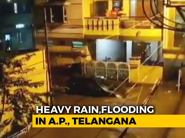 Video : Heavy Rain In Andhra Pradesh, Telangana; At Least 6 Dead In 48 Hours