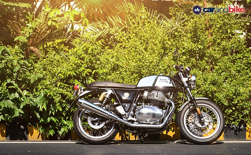 Royal Enfield 650 cc twins could see alloy wheels being offered as an option from next year